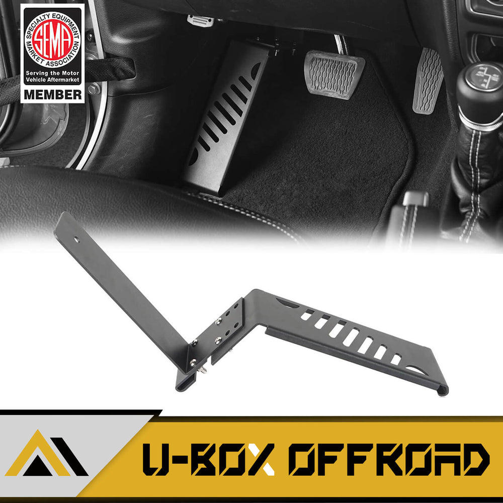 Dead Pedal Left Side Foot Rest Kick Panel(18-20 Jeep Wrangler JL)