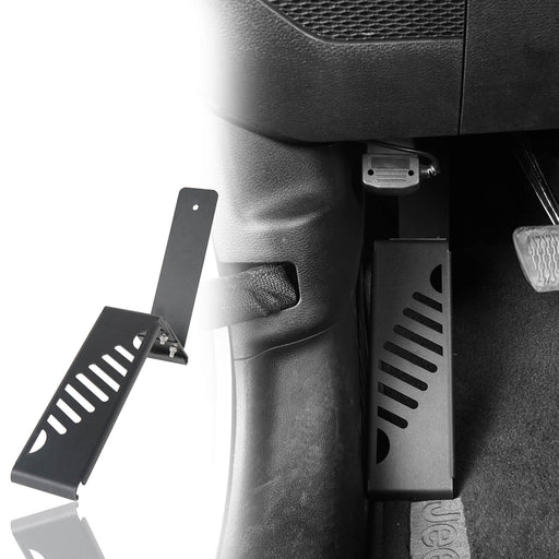 Hooke Road Jeep JL Dead Pedal Left Side Foot Rest Kick Panel for Jeep Wrangler JL 2018-2019 MMR1825 Jeep JL Accessories 2