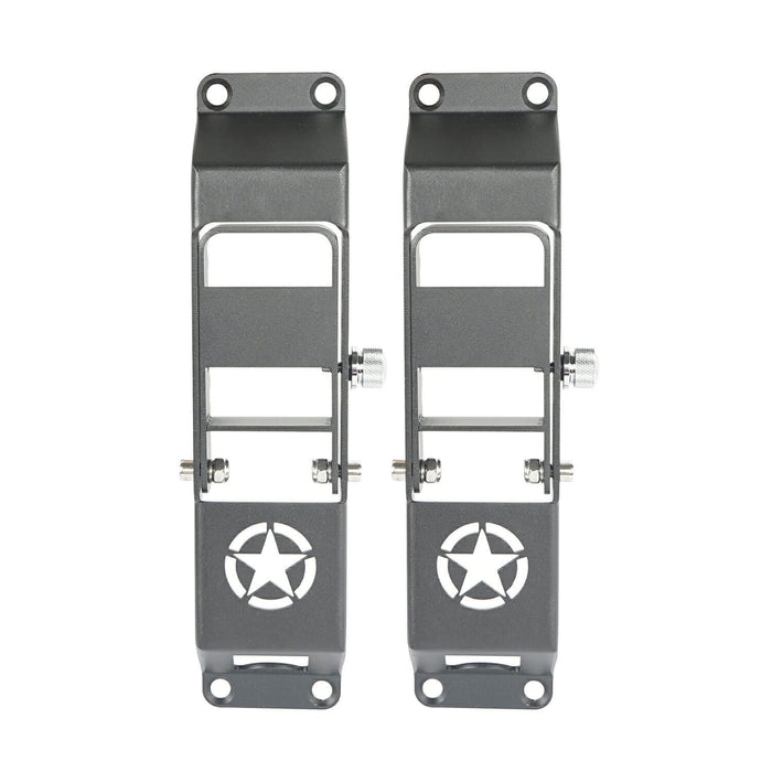 Hooke Road® Star Door Hinge Step(18-20 Jeep Wrangler JL)