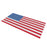Hooke Road® Old Glory Mesh Grille Insert USA Flag Steel(Jeep Wrangler JL 18-19)