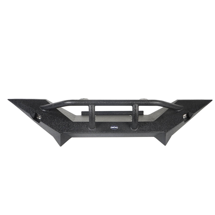 Hooke Road® Destroyer TJ Front Bumper w/Winch Plate & LED SpotLights(97-06 Jeep Wrangler TJ)