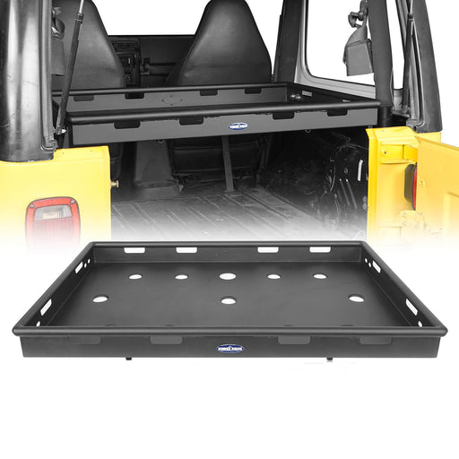 Hooke Road Interior Cargo Rack Jeep Wrangler Rear Cargo Rack for Jeep Wrangler TJ 1997-2006 BXG216 u-Box offroad 2