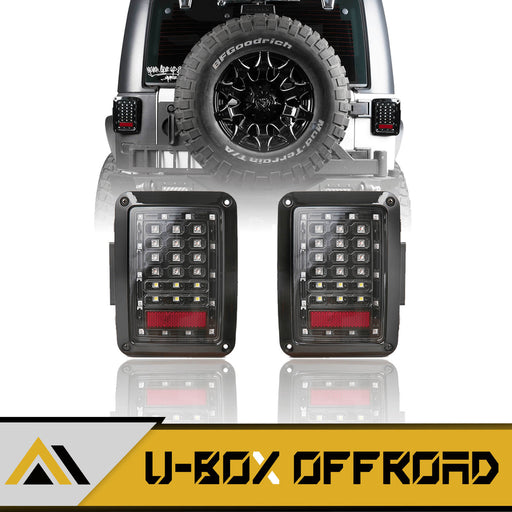 LED Tail Lights Assemble(07-18 Jeep Wrangler JK JKU)