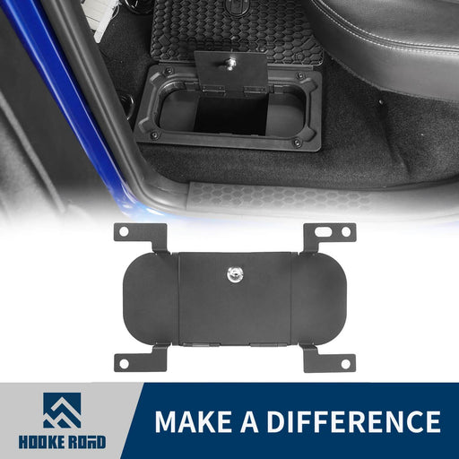 Hooke RoadRam Rear In-Floor Storage Security Lid for 2009-2018 Dodge Ram 1500 2500 3500 Ram Accessories Ram Parts GY10004 1
