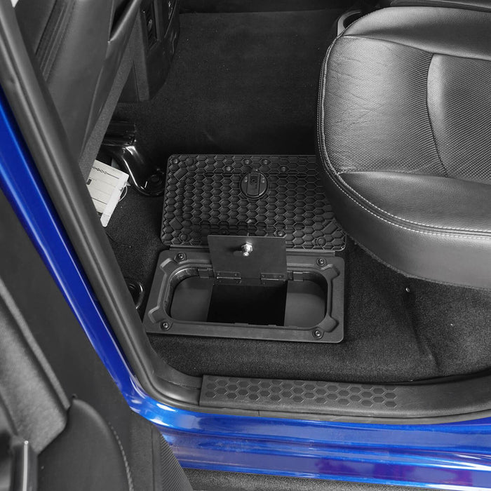 Hooke RoadRam Rear In-Floor Storage Security Lid for 2009-2018 Dodge Ram 1500 2500 3500 Ram Accessories Ram Parts GY10004 5