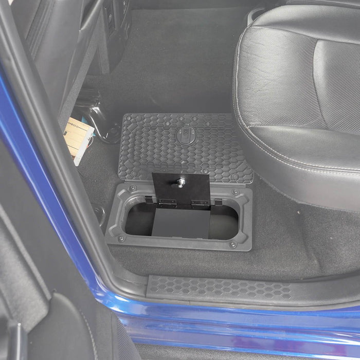 Hooke RoadRam Rear In-Floor Storage Security Lid for 2009-2018 Dodge Ram 1500 2500 3500 Ram Accessories Ram Parts GY10004 6