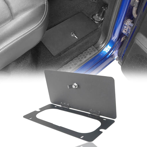 Hooke RoadRear In-Floor Storage Security Lid for 2009-2018 Dodge Ram 1500 2500 3500 Ram Accessories Ram Parts GY10003 2