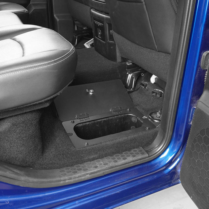 Hooke RoadRear In-Floor Storage Security Lid for 2009-2018 Dodge Ram 1500 2500 3500 Ram Accessories Ram Parts GY10003 4