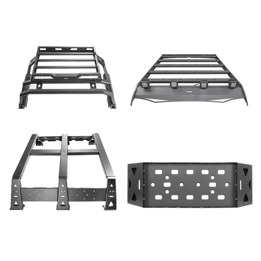 Roof Rack Luggage Cargo Carrier, Bed Rack Cargo Rack, Roll Bar(05-21 Toyota Tacoma)
