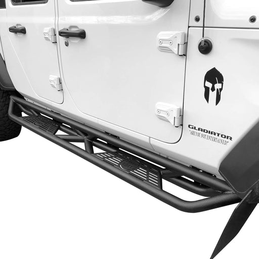 Hooke Road Running Boards Side Steps Nerf Bars(20-21 Jeep Gladiator JT)