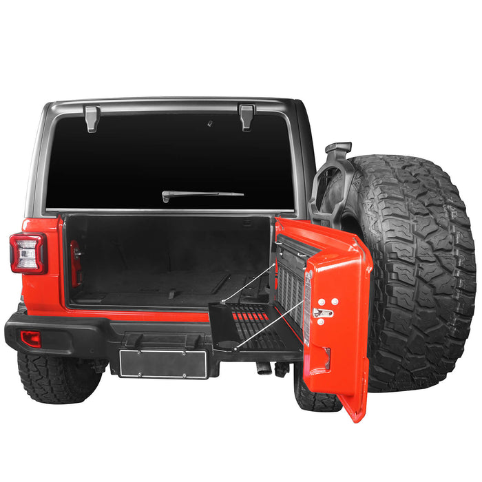 Hooke Road® Jeep JL Table Cargo Tailgate Table for 2018-2019 Jeep Wrangler JL Jeep JL Parts MMR1830 u-Box offroad 5