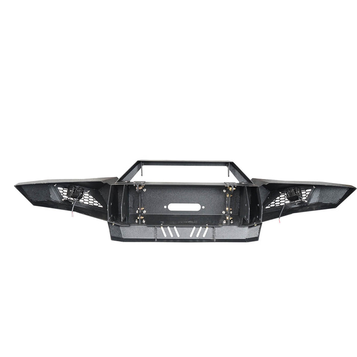 Hooke Road Toyota Tacoma Front Bumper with Winch Plate Toyota Tacoma Parts for Toyota Tacoma 2005-2015 BXG402 u-Box offroad 10