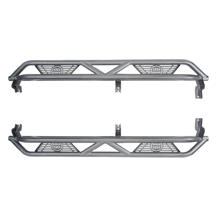 Hooke Road Toyota Tacoma Side Steps 4 Door Tubular Nerf Bars Toyota Tacoma Parts for Toyota Tacoma 2005-2019 2nd Gen 3rd Gen BXG404 u-Box offroad 2