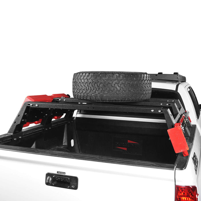 "Hooke Road Toyota Tundra Bed Rack MAX 13"" High Bed Rack for Toyota Tundra 2014-2019 BXG606 Toyota Tundra Parts u-Box offroad 7"