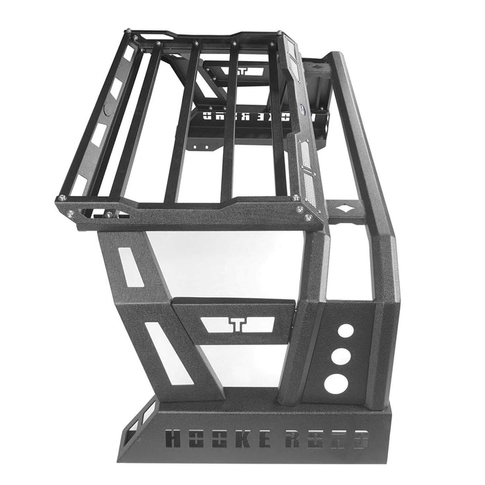 Hooke Road Toyota Tundra Roll Bar Bed Rack for 2014-2019 Toyota Tundra BXG607 u-Box Offroad 10