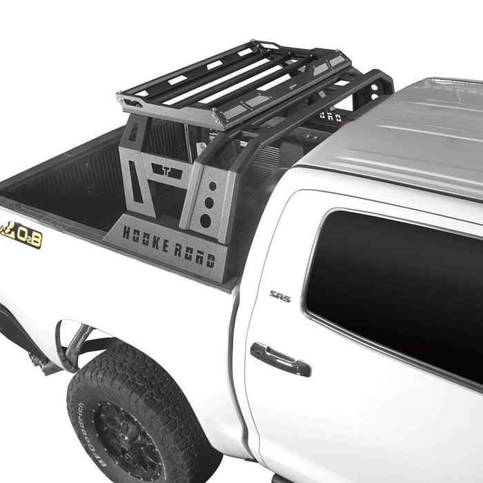 Hooke Road Toyota Tundra Roll Bar Bed Rack for 2014-2019 Toyota Tundra BXG607 u-Box Offroad 5