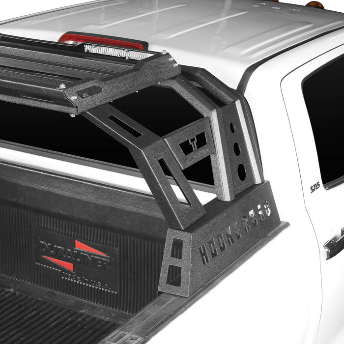 Hooke Road Toyota Tundra Roll Bar Bed Rack for 2014-2019 Toyota Tundra BXG607 u-Box Offroad 6
