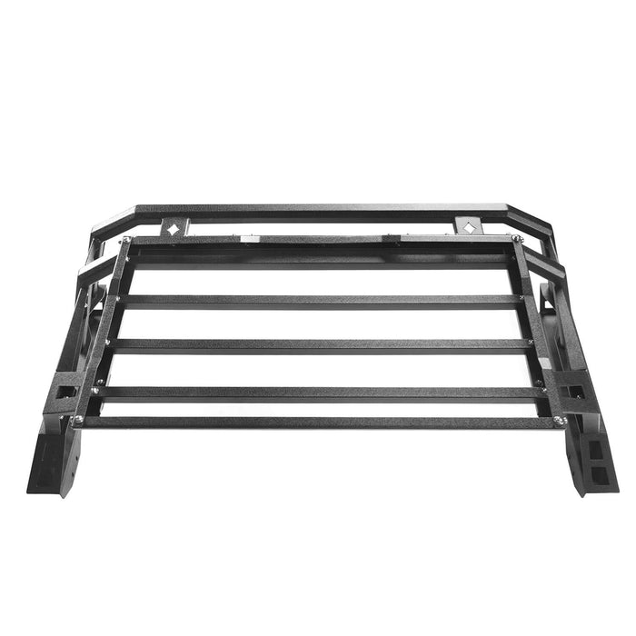 Hooke Road Toyota Tundra Roll Bar Bed Rack for 2014-2019 Toyota Tundra BXG607 u-Box Offroad 7