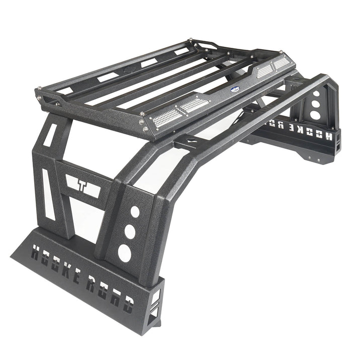 Hooke Road Toyota Tundra Roll Bar Bed Rack for 2014-2019 Toyota Tundra BXG607 u-Box Offroad 9