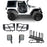 Hooke Road® 2 Door Tube Doors & Door Hanger Storage(07-18 Jeep Wrangler JK JKU)