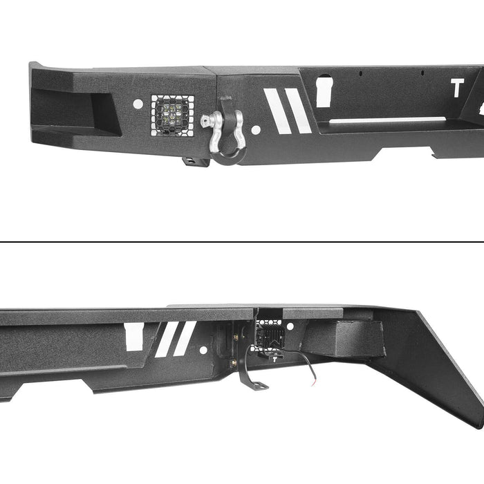 Hooke Road Tundra Rear Bumper Full Width Rear Bumper for Toyota Tundra BXG602 Toyota Tundra Parts u-Box Offroad 10