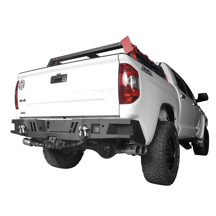 Hooke Road Tundra Rear Bumper Full Width Rear Bumper for Toyota Tundra BXG602 Toyota Tundra Parts u-Box Offroad 3