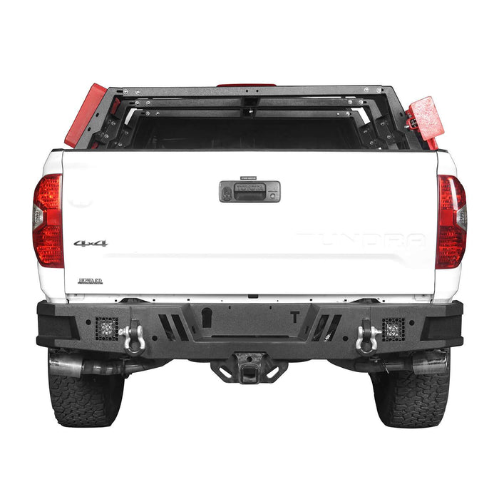Hooke Road Tundra Rear Bumper Full Width Rear Bumper for Toyota Tundra BXG602 Toyota Tundra Parts u-Box Offroad 4
