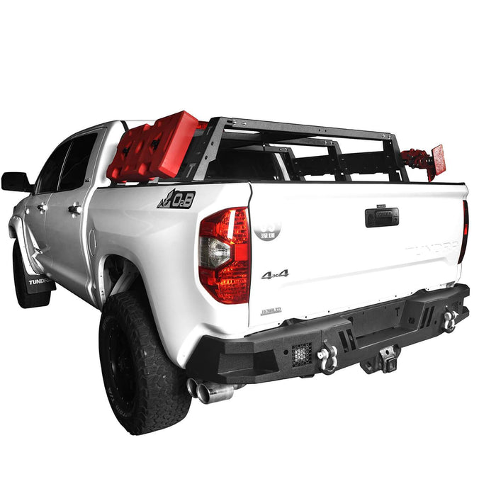 Hooke Road Tundra Rear Bumper Full Width Rear Bumper for Toyota Tundra BXG602 Toyota Tundra Parts u-Box Offroad 5