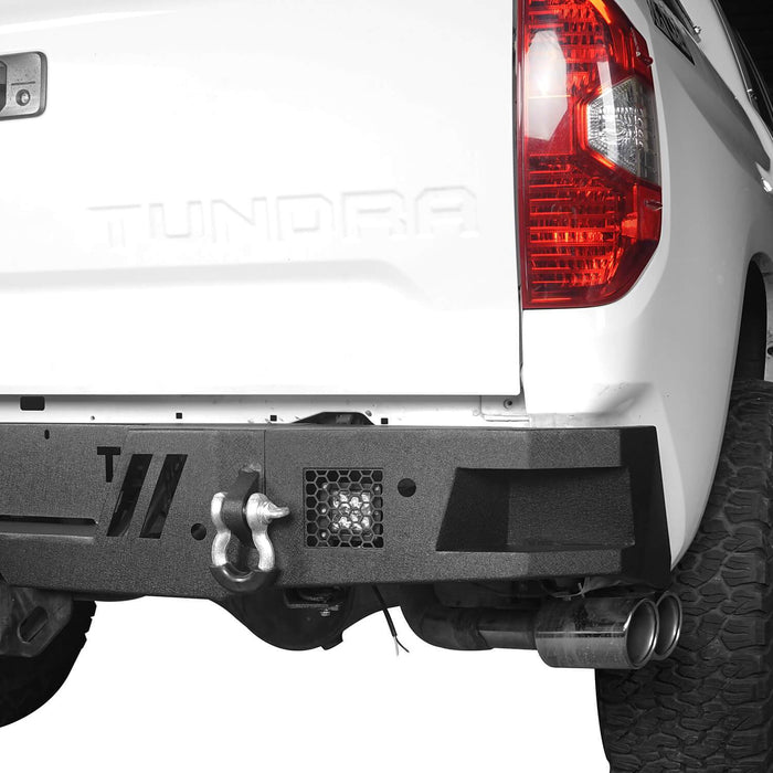 Hooke Road Tundra Rear Bumper Full Width Rear Bumper for Toyota Tundra BXG602 Toyota Tundra Parts u-Box Offroad 6