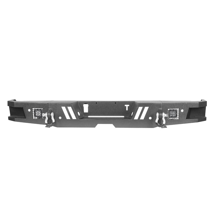 Hooke Road Tundra Rear Bumper Full Width Rear Bumper for Toyota Tundra BXG602 Toyota Tundra Parts u-Box Offroad 7