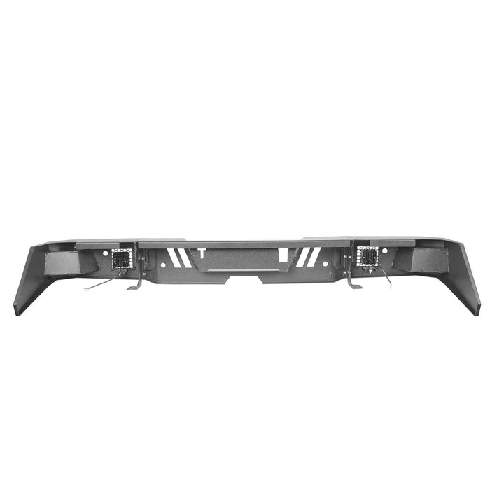 Hooke Road Tundra Rear Bumper Full Width Rear Bumper for Toyota Tundra BXG602 Toyota Tundra Parts u-Box Offroad 9