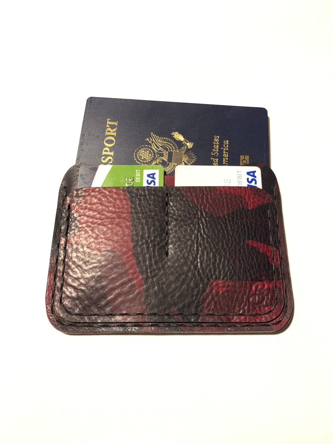 Oakland Passport Wallet | Red Camo