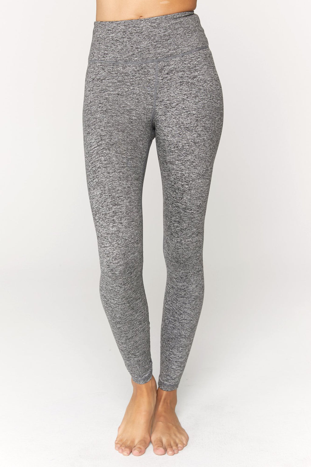 Perfect High Waist Legging - Heather Grey
