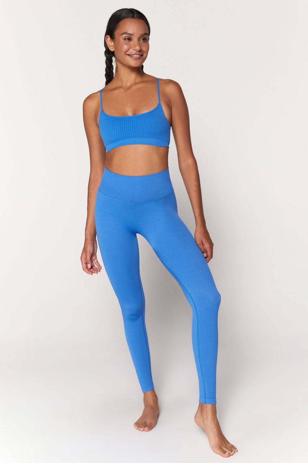Love Sculpt Seamless Legging - Blue Paradise