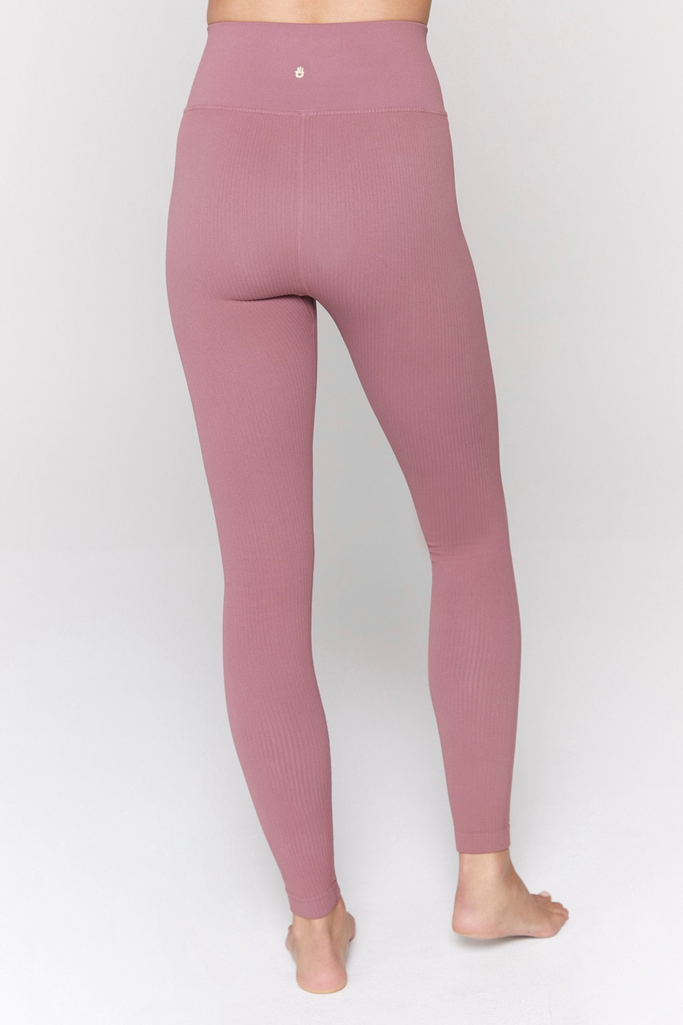 Metta Ribbed Legging - Coco