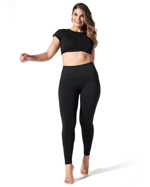 BLANQI® EVERYDAY™ Hipster Support Legging - Black