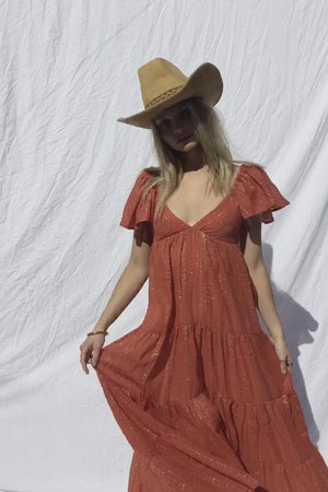 Load and play video in Gallery viewer, Echo Maxi Dress