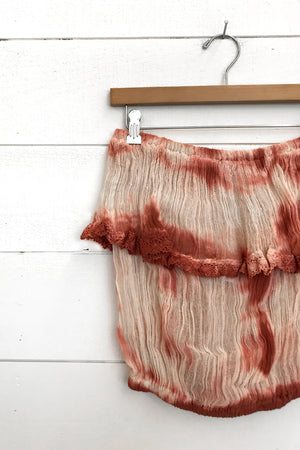 Load image into Gallery viewer, Natural/Rust Lightning Tie Dye