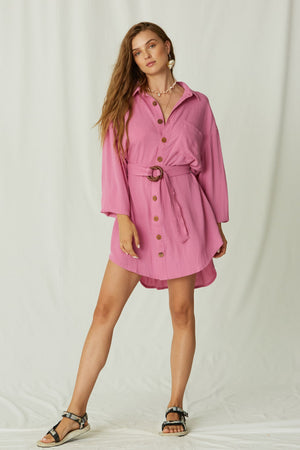 Ipanema Mini Shirt Dress