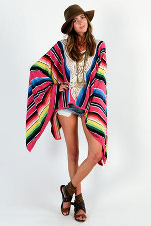 Load image into Gallery viewer, Serape Lovely Day Kaftan