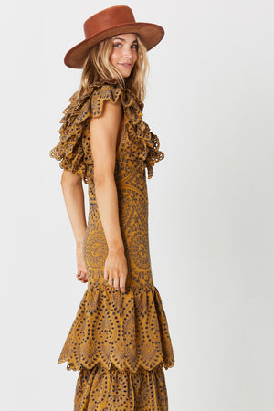Flamenco Maxi Dress