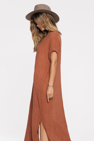 Load image into Gallery viewer, Gauze Saba Maxi Kaftan