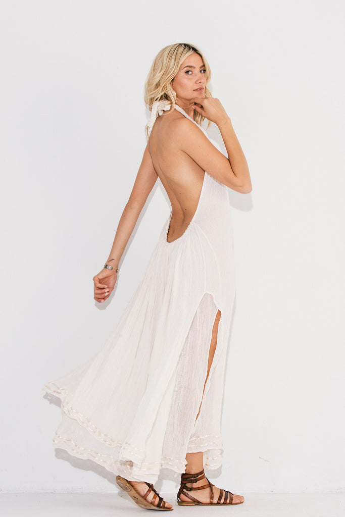 Think, long dress booty anal me