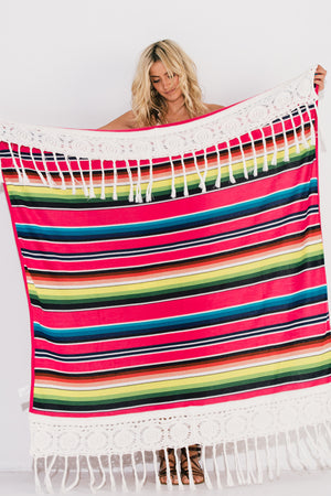 Load image into Gallery viewer, Serape Pink