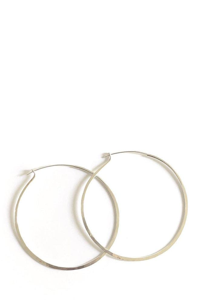 Load image into Gallery viewer, Marisa Mason Classic Hoop Earrings Silver