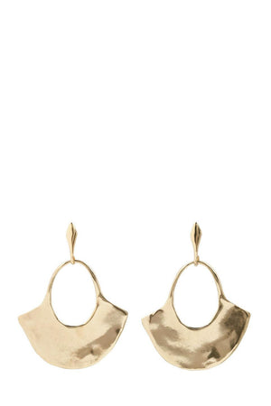 Load image into Gallery viewer, Marisa Mason Lina Earrings Brass
