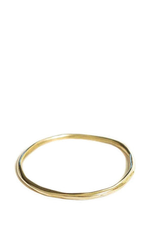 Marisa Mason Orbit Thin Bangle Brass