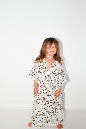 Load image into Gallery viewer, Little Bandana Mykonos Kaftan