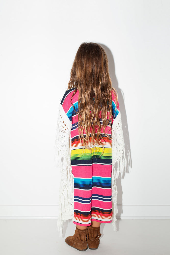 Load image into Gallery viewer, Little Serape Mykonos Kaftan