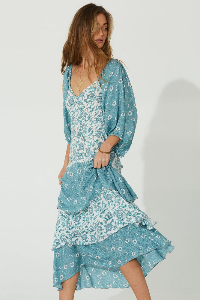 Load image into Gallery viewer, Comoros Maxi Dress